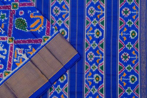 Indo fabric pochampalli silk saree PSIF060043