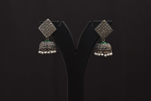 Lasya Silver Earrings LA0016