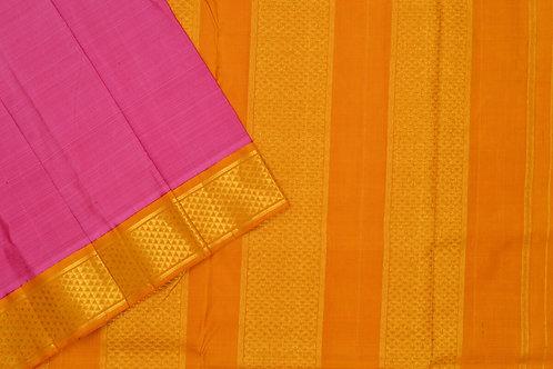 Nine yards silk saree SS1848