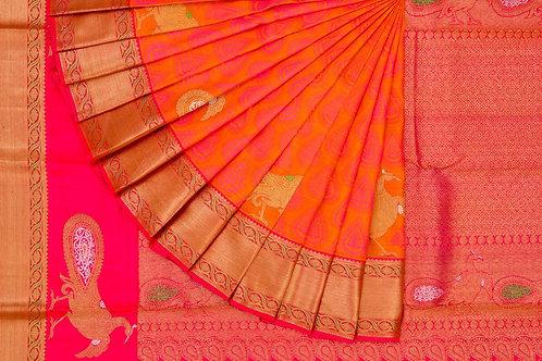 Kanjivaram silk saree SS1576