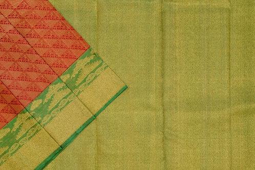 Bridal Kanjivaram silk saree SS1885
