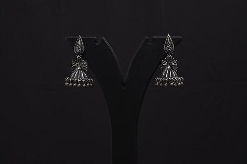 Alankrita Silver Earrings PSAL1012