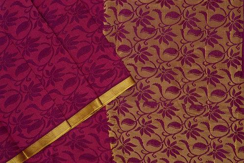 Amrith weaves creation dupion soft silk saree PSAC090235