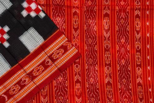 Ira Creations Sambalpuri Cotton Saree PSIC12IRA13