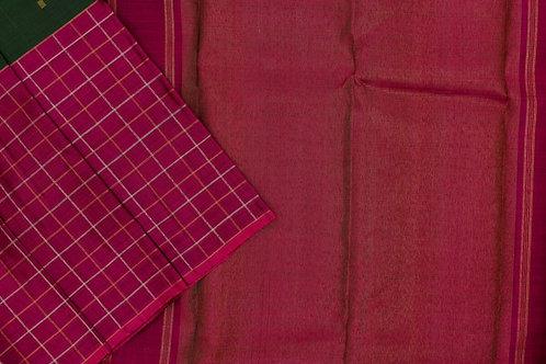 Sita mahalakshmi kanjivaram silk saree PSSM05SMLGAV201129