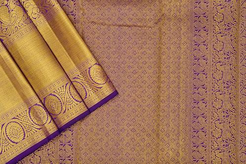 Sita mahalakshmi kanjivaram silk saree PSSM05LGAV2007A4