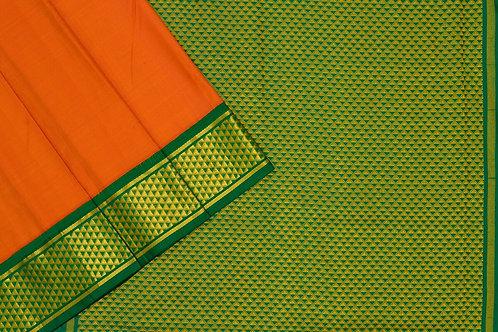 Nine yards silk saree SS1850