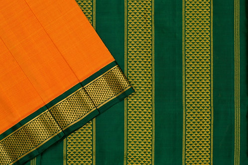 Nine yards silk saree SS1855