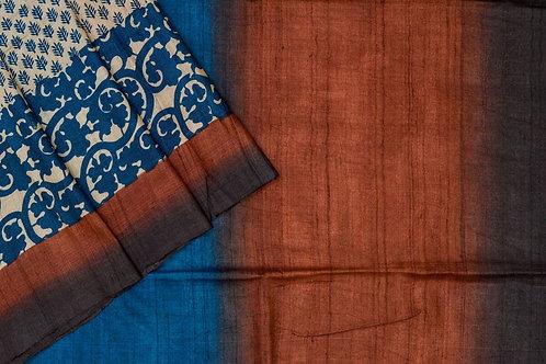 Weavers studio tussar silk saree PSWS140002