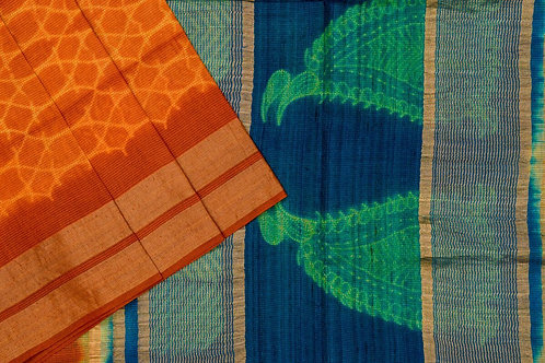 Mura Shibori silk saree PSMR170016