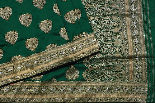 Tharakaram Banaras blended silk saree PSTK040098