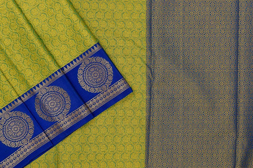 Blended cotton saree SS2146
