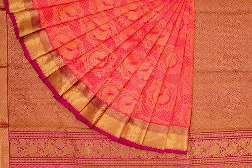 Bridal Kanjivaram silk saree SS1100