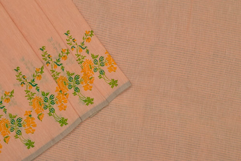 Coorv designs linen saree PSCO110016