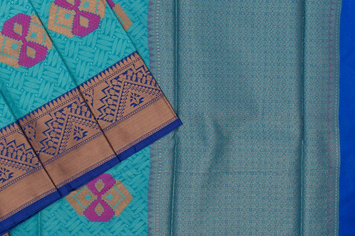 Blended cotton saree SS2151