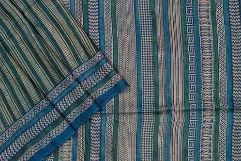 Weavers studio tussar silk saree PSWS140006