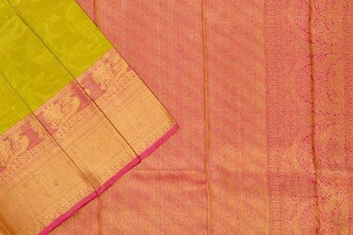 Bridal Kanjivaram silk saree SS1728