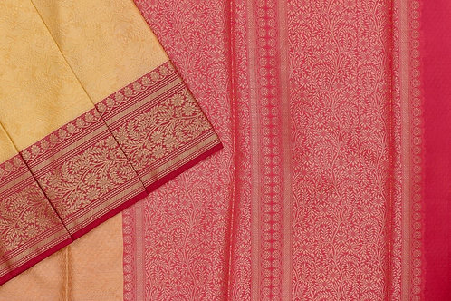 Blended cotton saree SS2156