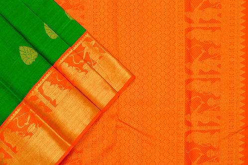 Kanjivaram silk saree SS1677