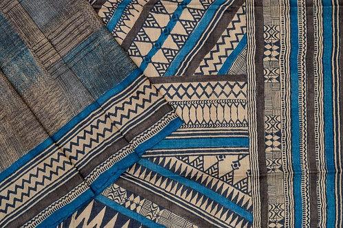 Weavers studio tussar silk saree PSWS140007