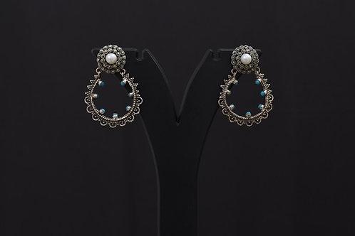 Lasya Silver Earrings PSLA180028