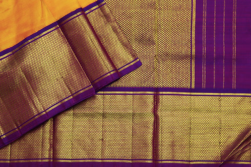Tharakaram nine and a half yards silk saree PSTK040145