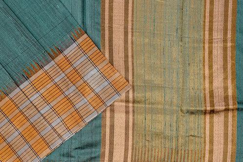 Sita mahalakshmi Raw silk saree PSSM05SMLBAL201107