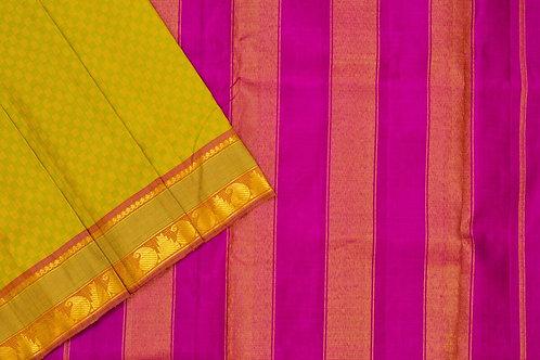 Nine yards silk saree SS1851