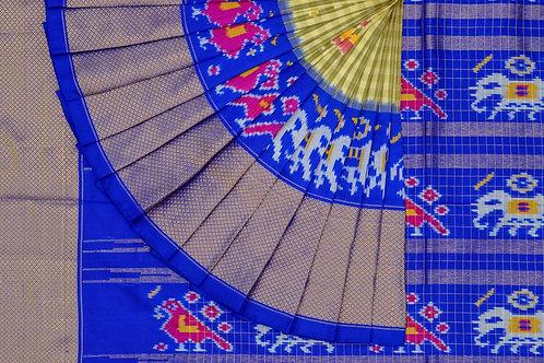 Indo fabric pochampalli silk saree PSIF060007