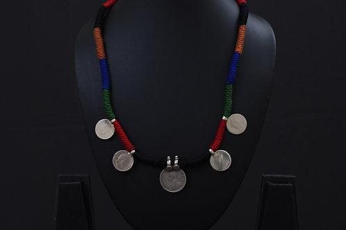 Alankrita Silver Necklace PSAL1022