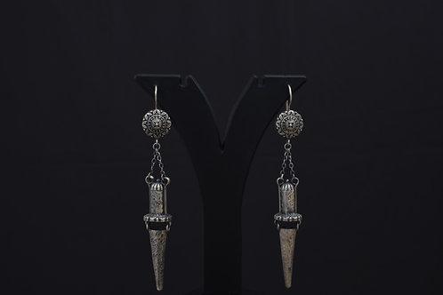 Alankrita Silver Earrings PSAL1036
