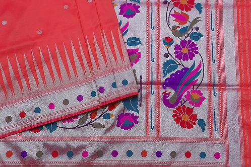 Tharakaram Banaras Blended silk saree PSTK040091