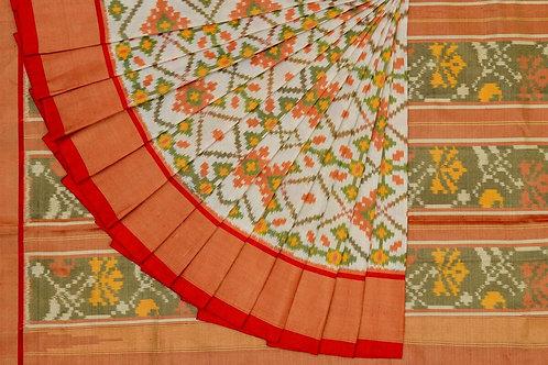 Indo fabric pochampalli silk saree PSIF060012