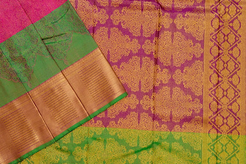 Bridal Kanjivaram silk saree SS1877