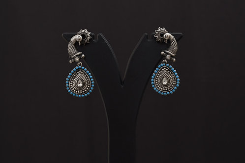 Lasya Silver Earrings LA0030