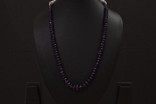 Lasya Necklace with amethist stones LA0035