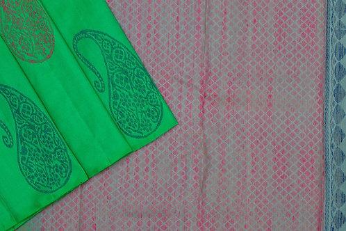 Amrith weaves creation soft silk saree PSAC090113