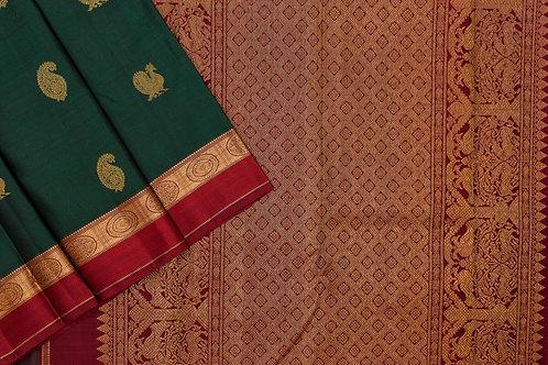 Sita mahalakshmi kanjivaram silk saree PSSM05SMLGAV201117