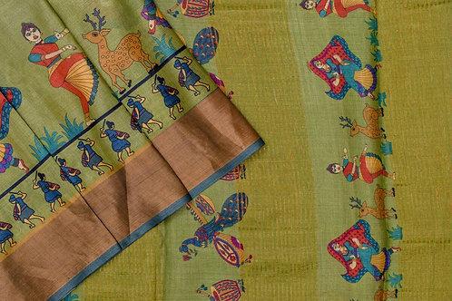 Shreenivas silks Tussar silk saree PSSR012114