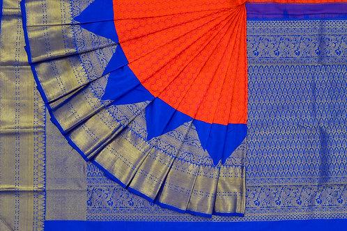 Bridal Kanjivaram silk saree SS937