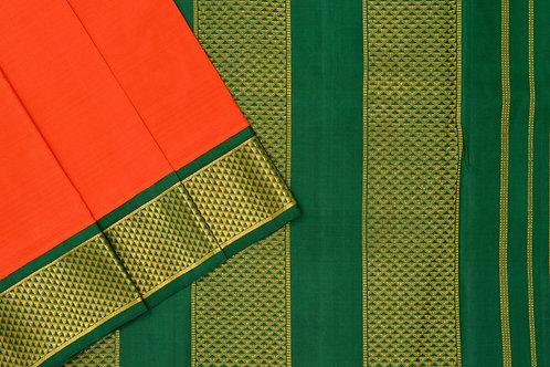 Nine yards silk saree SS1792