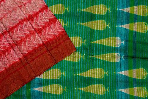 Mura Shibori silk saree PSMR170005