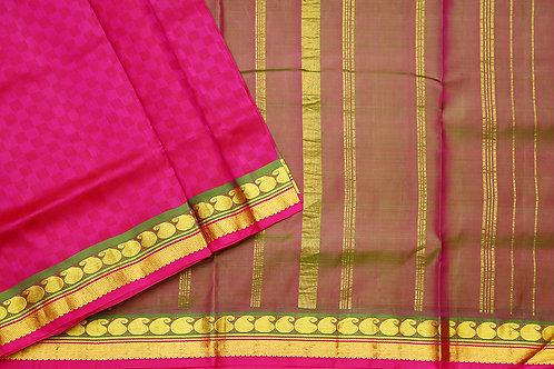 Tharakaram nine and a half yards silk saree PSTK040106