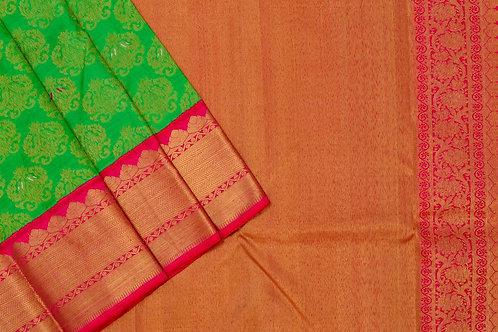 Shreenivas silks Kanjivaram silk saree PSSR011724