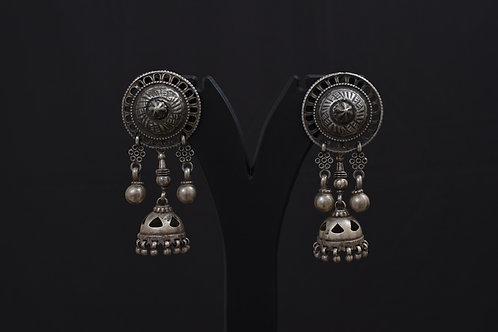 Alankrita Silver Earrings PSAL1014