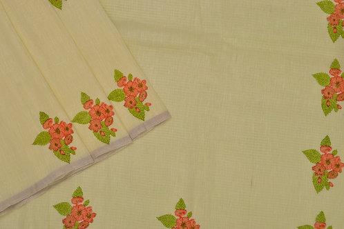 Coorv designs linen saree PSCO110014