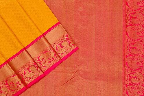 Bridal Kanjivaram silk saree SS1735