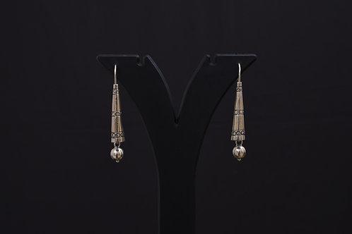 Alankrita Silver Earrings PSAL1001