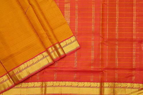 Tharakaram nine and a half yards silk saree PSTK040107