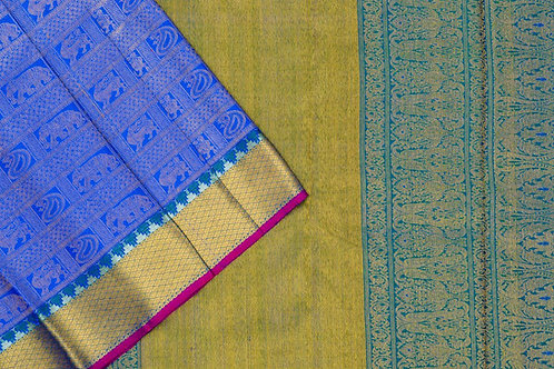 Bridal Kanjivaram silk saree SS1742
